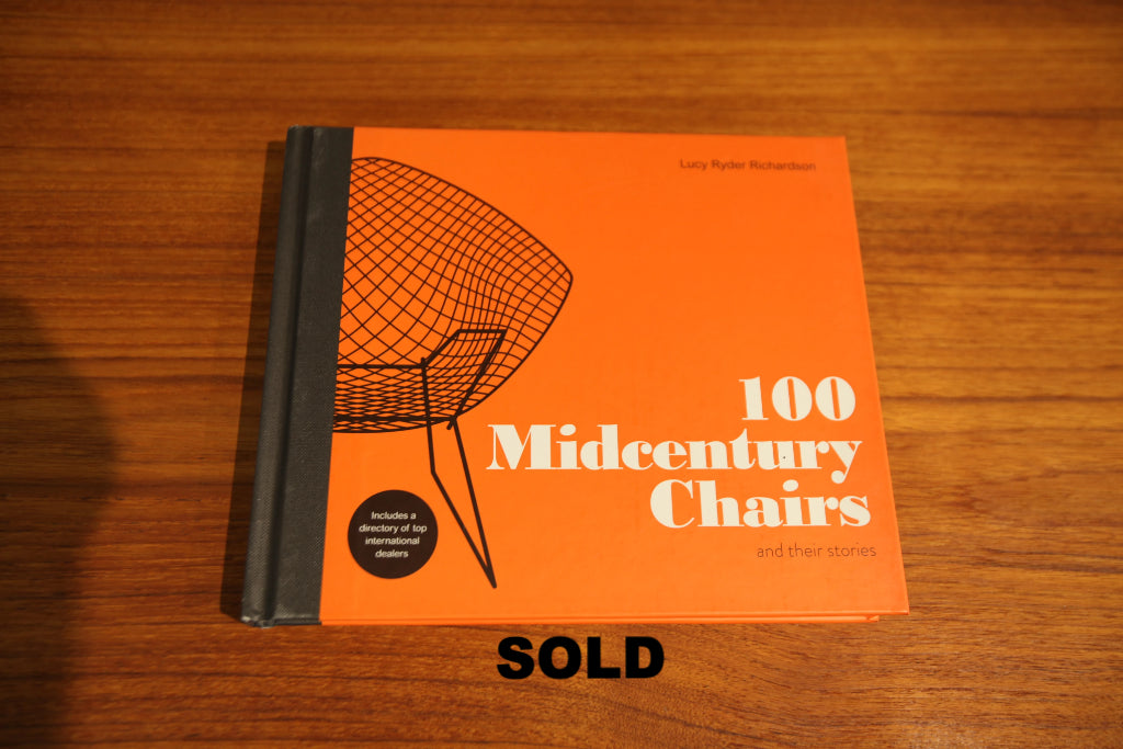 """100 Mid Century Chairs and their stories"" BOOK"