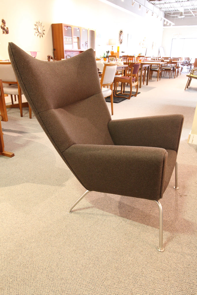 "Amazing Hans J. Wegner CH445 Wing Chair by Carl Hansen & Sons (35""W, 41""H, 36""D)"