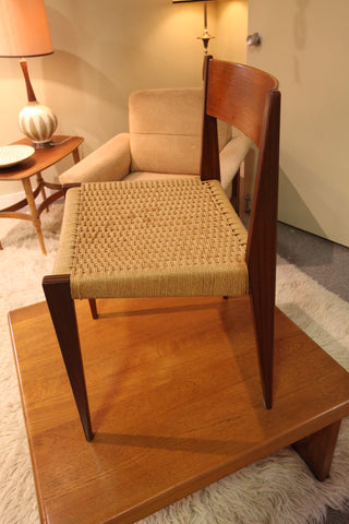 Single Vintage Danish Chair