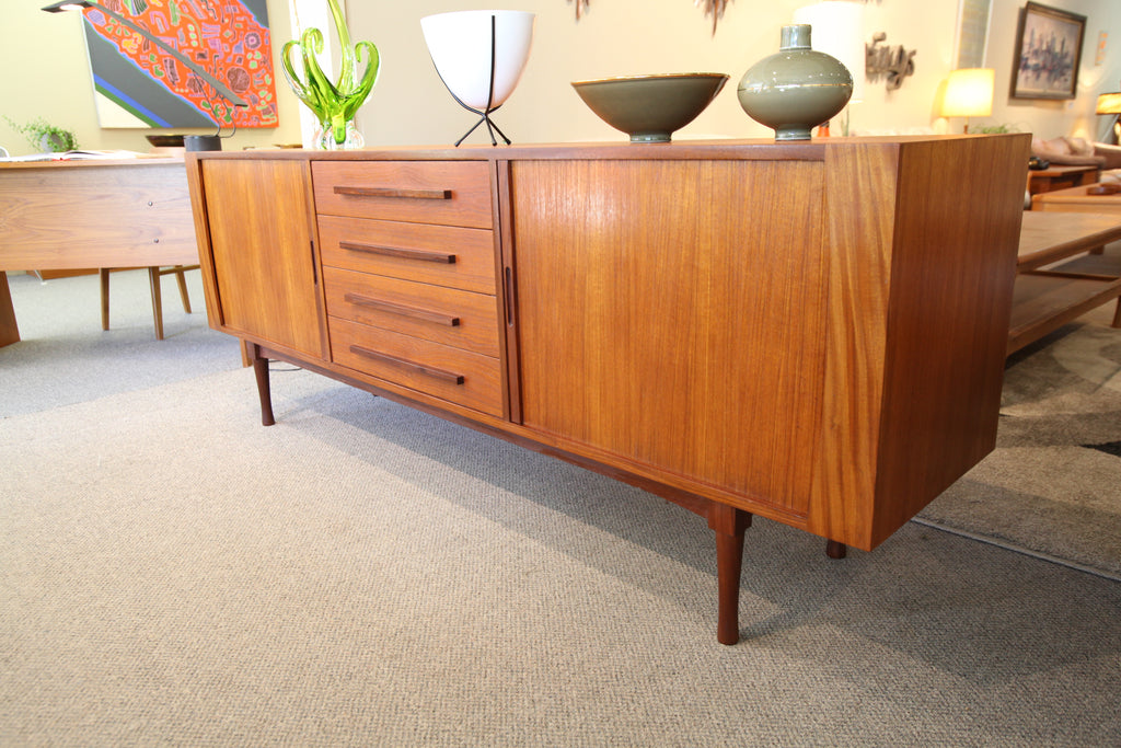 "RS Associates Montreal Teak Sideboard / Credenza (78""L x 18""D x 29.25""H)"