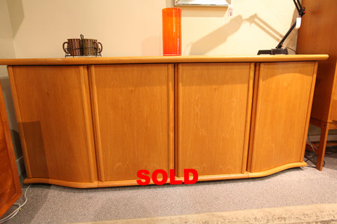 "High Quality Danish Teak Sideboard by Skovby. (80.5""W x 20""D x 33.5""H)"