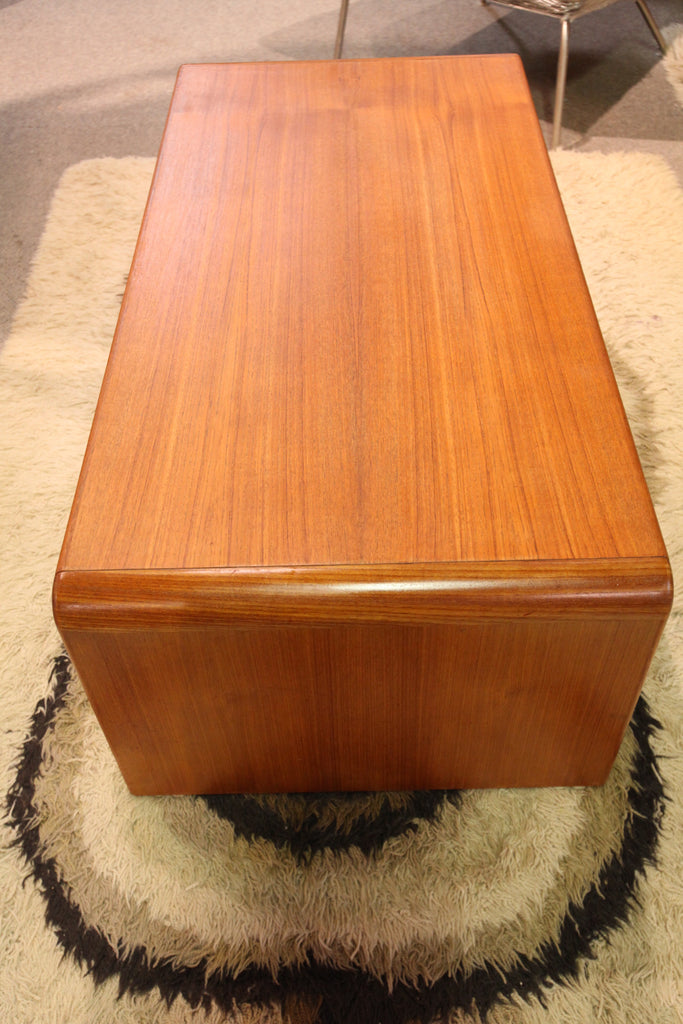 "Vintage Teak Coffee Table (47"" x 23.5"" x 16""H)"
