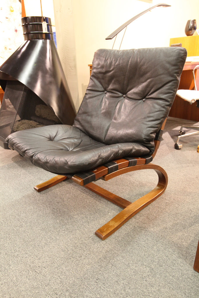 Vintage Leather Kengu Chair