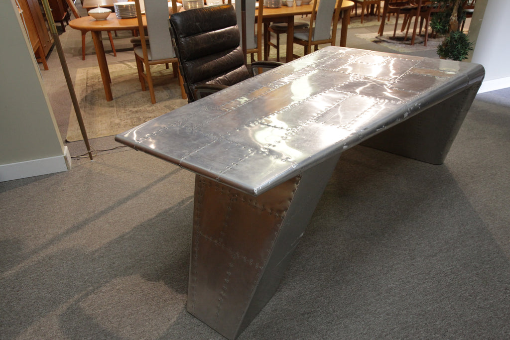 "Aviator Wing Desk (Restoration Hardware) (78""L x 35""W x 30""H)"