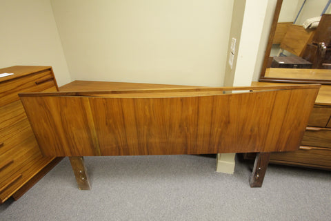 "Vintage Walnut Queen Size Headboard (80""W x 36""H)"