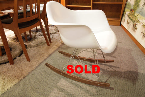"""High Quality"" Replica Eames Fiberglass Rocking Chair"