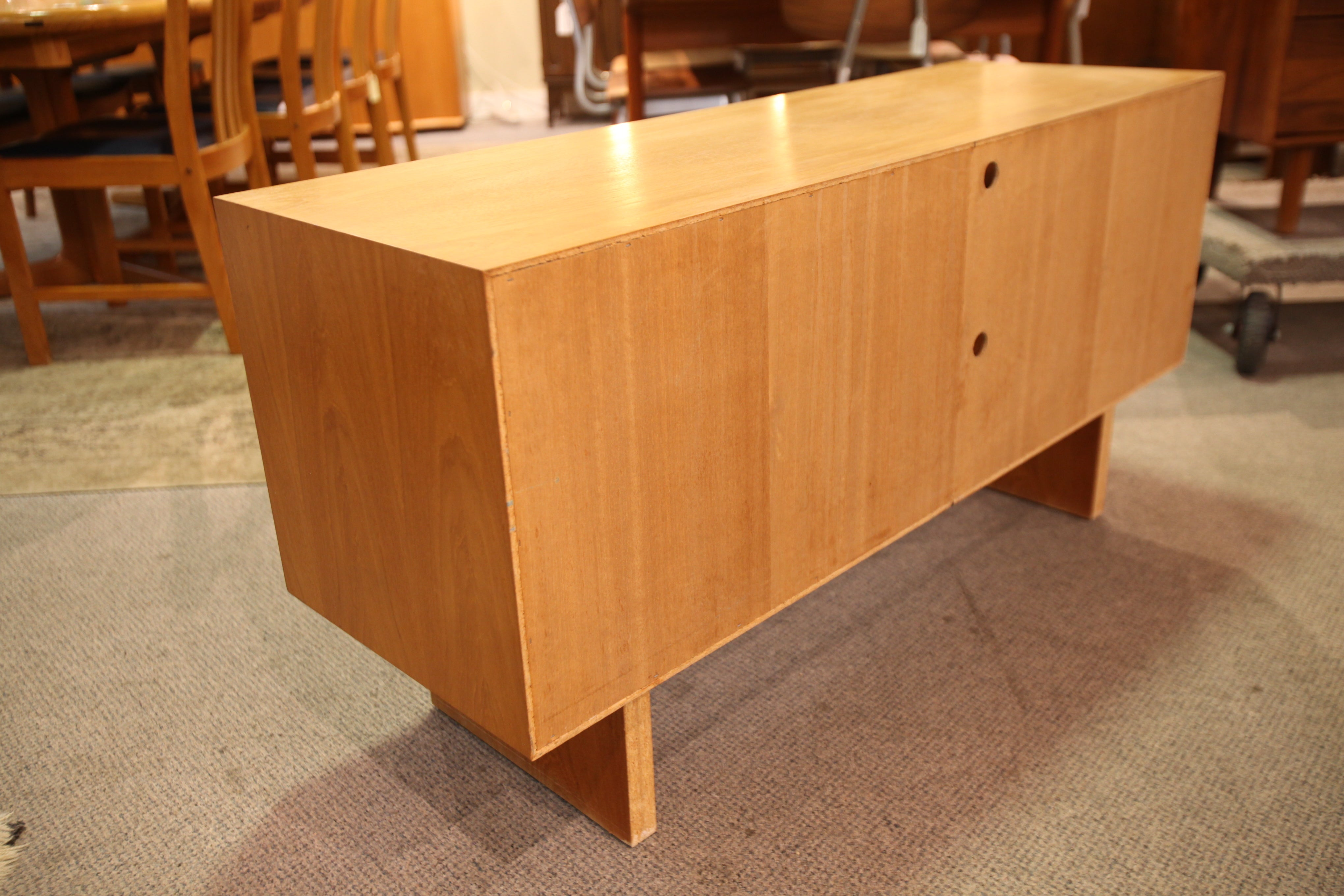 "Vintage Teak Entertainment / Stereo Stand (48"" x 16"" x 24.25""H)"