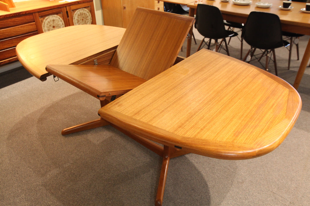 "Vintage Danish Teak Table w/ Butterfly Leaf (78.5""x39.25"") or (59""x39.25"") 28""H"