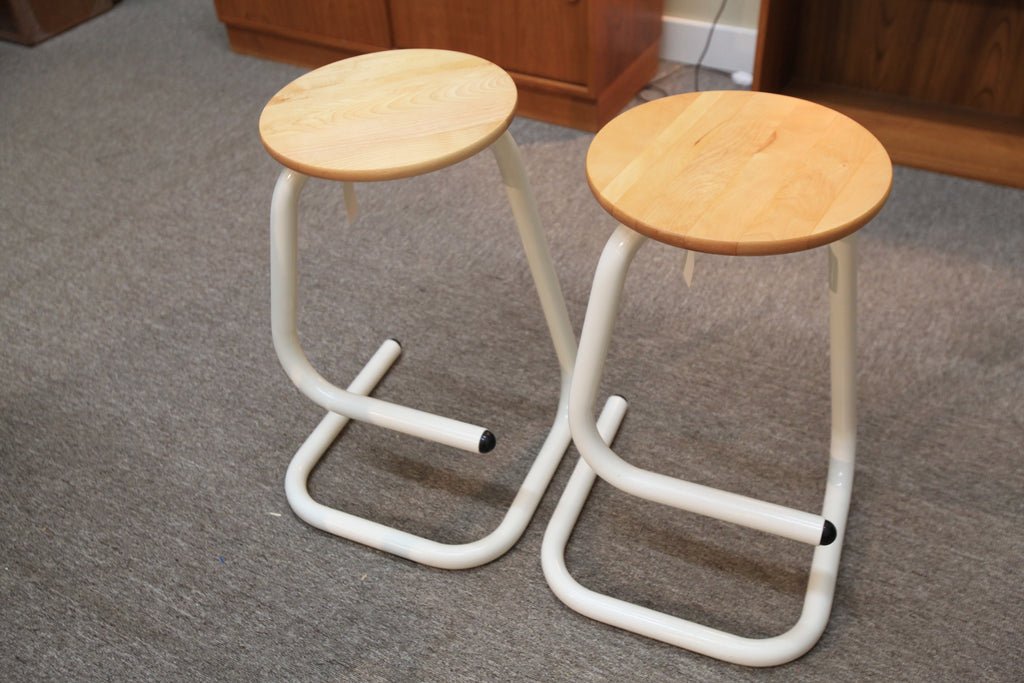 "Vintage Amisco Kinetic Bar Stool (24.5""H)"