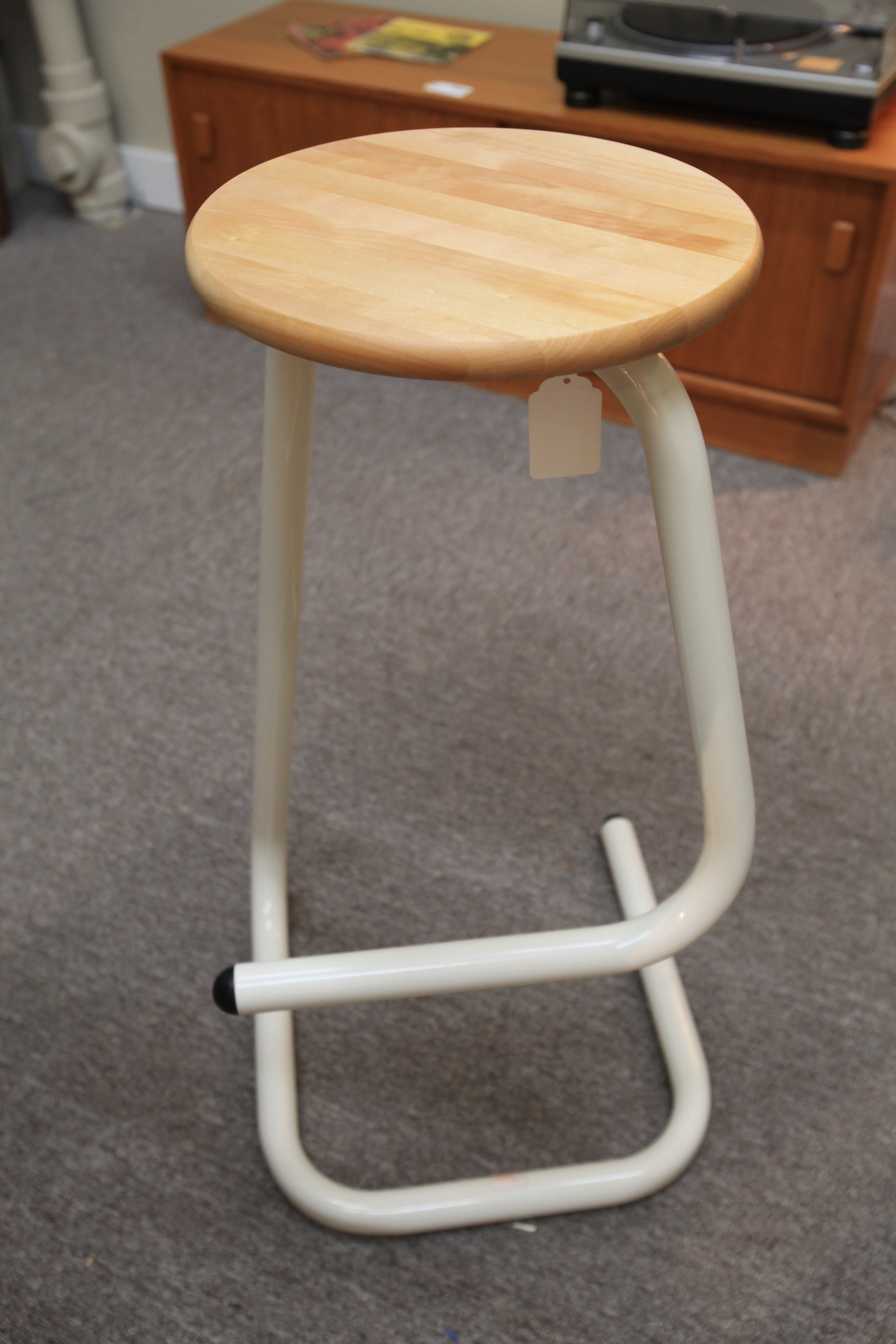 "Vintage Tall Amisco Kinetic Bar Stool (30.75""H)"