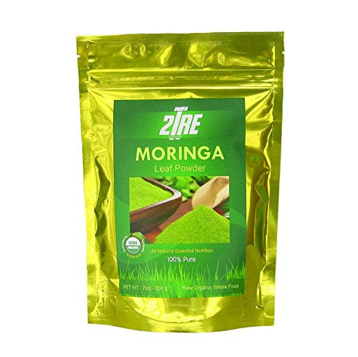 Moringa Powder -USDA Certified All Natural, Gluten Free - Organic Moringa Oleifera Leaf Powder