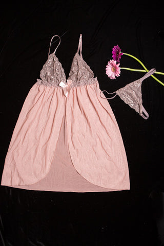 Lace cup Babydoll