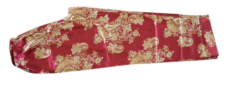3 piece Oriental Silk Lounge Set - Red
