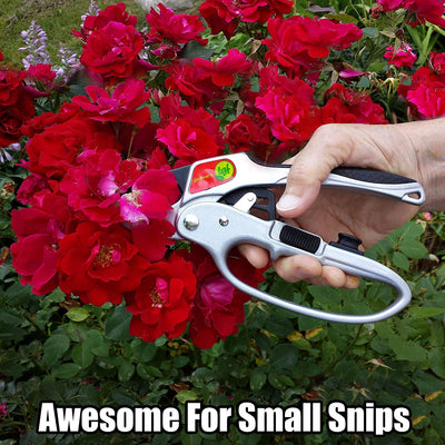 The Gardener's Friend Pruners, Ratchet Pruning Shears, Garden Tool, For Weak Hands, Gardening Gift For Any Occasion, Anvil Style