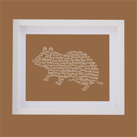 hamster designed with words