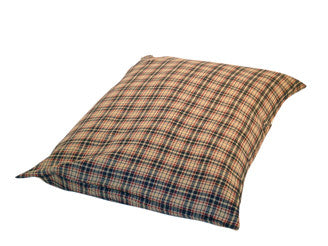 Luxury Deep Duvet Dog Bed in Classic Check