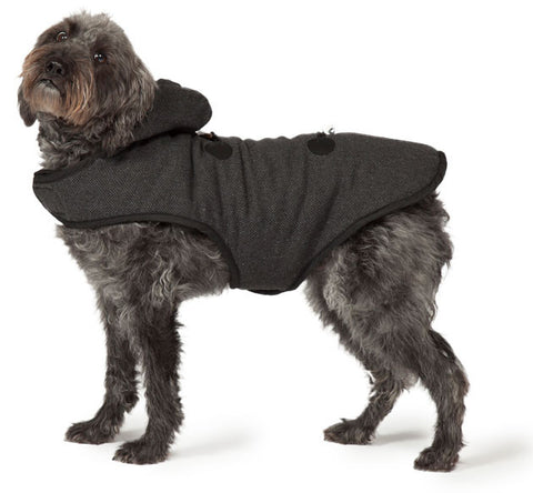 Duffle Dog Coat with Dog Cut Out