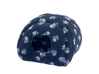 Sherpa Fleece Cat Igoo in Navy, Makes a Nice Dog Bed also