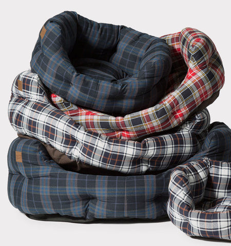 Stack of Lumberjack Duluxe Slumber Dog Beds