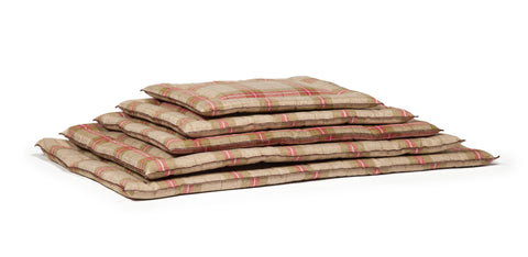 Stack of All Sizes of Newton Cage Mattresses in Moss