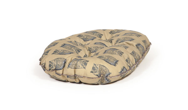 Luxury Quilted Mattress in Woodland Owl