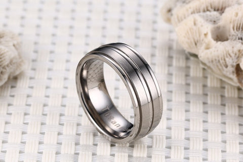 Titanium Carbide Ring [5 Colors] – CoolFlair