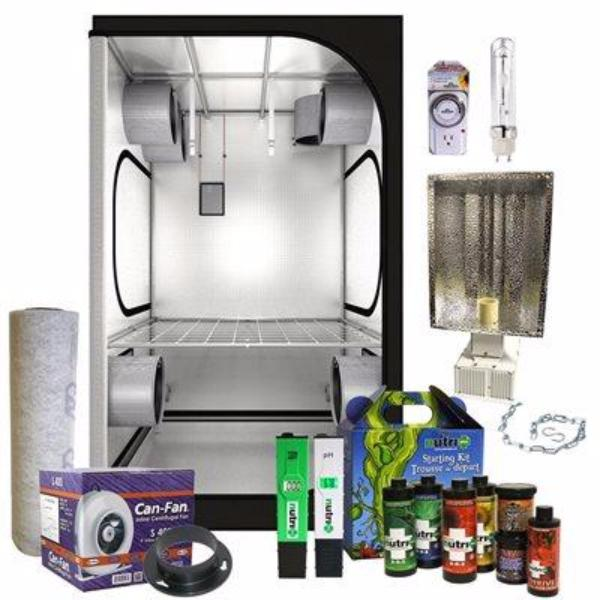 Secret Jardin- Grow Tent Kit - 4u0027x4u0027x6.5u0027  sc 1 st  Grow Supply Experts & Secret Jardin- Grow Tent Kit - 4u0027x4u0027x6.5u0027 u2013 Grow Supply Experts