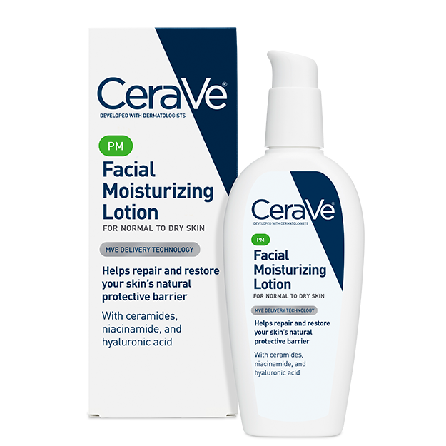 CeraVe PM Facial Moisturizing Lotion