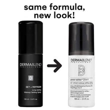 Dermablend Makeup Setting Spray Set + Refresh for Long Lasting Makeup Wear
