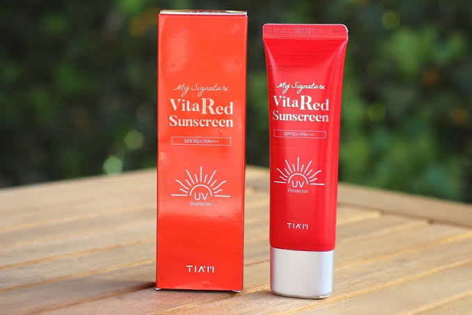 TIAM My Signature Vita Red Sunscreen 50ml