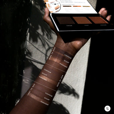 Black Radiance Contour Powder Palette