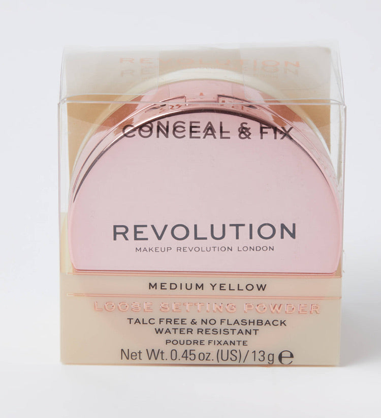 Revolution CONCEAL AND FIX SETTING POWDER