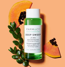 DEEP SWEEP 2% BHA pore cleaning toner with moringa and papaya