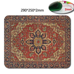 18*22/25*29CM mousepad Persian carpet style rubber anti-slip for laptop computer:BiBset.com