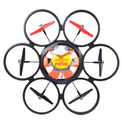 WLtoys V323 2.4G 4CH 6-Axis Gyro 2MP Camera RTF Remote Control Hexacopter Flying Saucer Drone Toy:BiBset.com