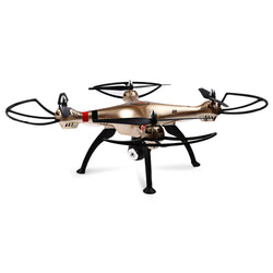 Syma X8HC 2.0MP HD Camera 2.4GHz 4CH 6 Axis Gyro RC Quadcopter Barometer Set Height:BiBset.com