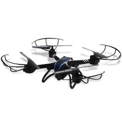 SKRC D20W 2.4GHz 4 Channel 6 Axis Gyro Quadcopter with HD Camera 3D Rollover RTF Version:BiBset.com