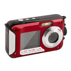 2.7 inch TFT Digital Camera Waterproof 24 Mega Pixels MAX 1080P Double Screen 16x Digital Zoom:BiBset.com