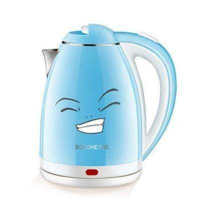2L Stainless Steel Electric Water Kettle Anti Scald:BiBset.com