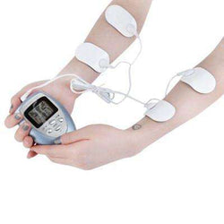 4 Pads Full Body Massager Muscle Relax Fat Burner:BiBset.com