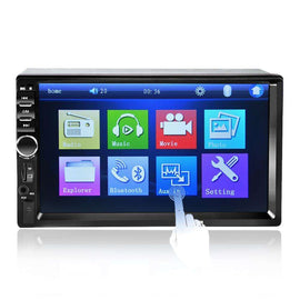 7 inch Bluetooth Audio Touch Screen Car Radio MP5 Player:BiBset.com