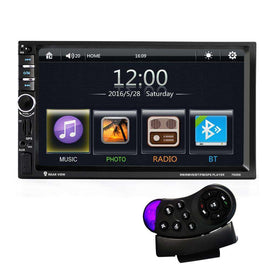 7inch Touch Screen Car Bluetooth Audio MP5 Player:BiBset.com