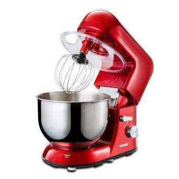 7L stainless steel bowl Kitchen 6 Speed Electric dough mixer:BiBset.com