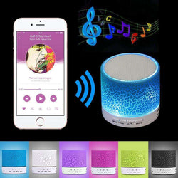 A9 Mini Wireless Bluetooth Speaker W/ LED Hands Free:BiBset.com