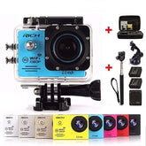 Action camera Full HD 1080P 30FPS Wifi waterproof 30m Diving outdoor Sport camera