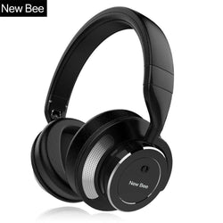 Active Noise Cancelling Wireless Bluetooth Headphone with Mic:BiBset.com
