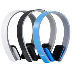 AEC Stereo Bluetooth Headphones with mic support 3.5mm:BiBset.com