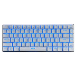 Ajazz AK33 Mechaincal Gaming Keyboard Blue & Black Axis:BiBset.com