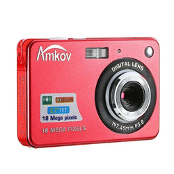 Amkov CDC3 18.0MP 2.7 inch TFT Screen 8X Digital Zoom Camera:BiBset.com