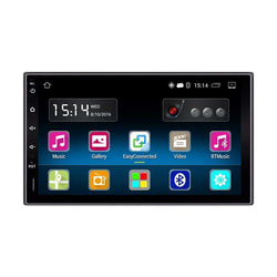Android 5.1 7 inch Car Radio Stereo Player 2DIN GPS Navigation Bluetooth Touch Screen:BiBset.com
